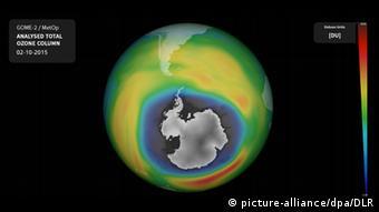 H τρύπα του όζοντος στην Ανταρκτική