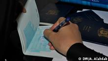 Syrien Damaskus Ausreise Passkontrolle
