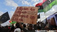 Demonstration in Bengasi Libyen