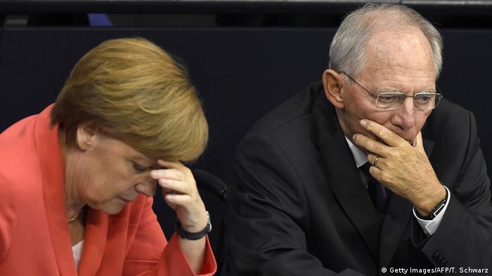 Angela Merkel and Wolfgang Schäuble