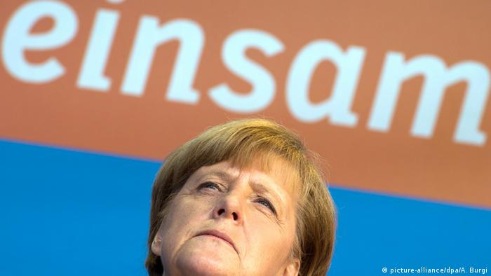 Archivbild Angela Merkel (picture-alliance/dpa/A. Burgi)