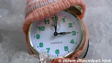 Symbolbild Winterzeit Zeitumstellung