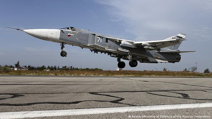 Российский Су-24 в Сирии