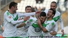 Fußball Bundesliga 10. Spieltag SV Darmstadt 98 gegen VfL Wolfsburg