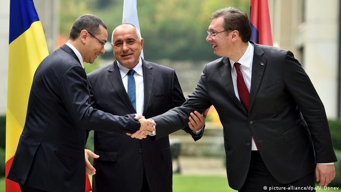 EU-Balkan-Treffen Bulgarien, Rumänien und Serbien