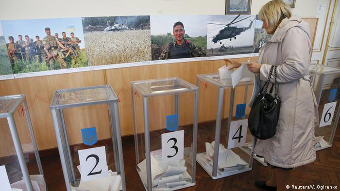 Голосування на місцевих виборах у Києві. Архівне фото