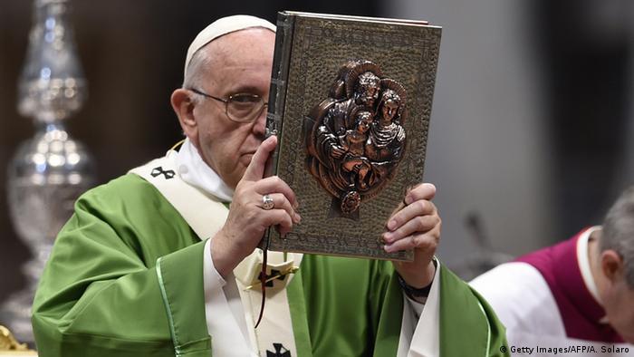Papst Franziskus Bischofssynode Messe