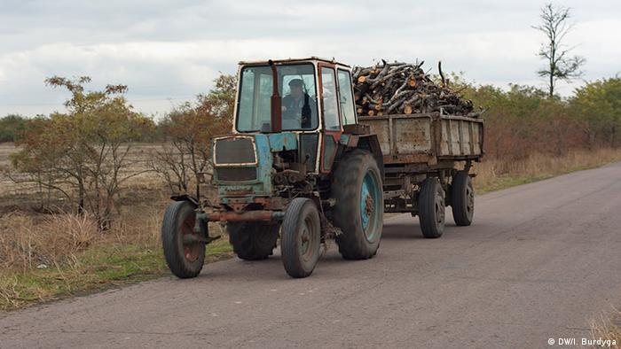 Landwirtschaft Dorf Myrne Ukraine