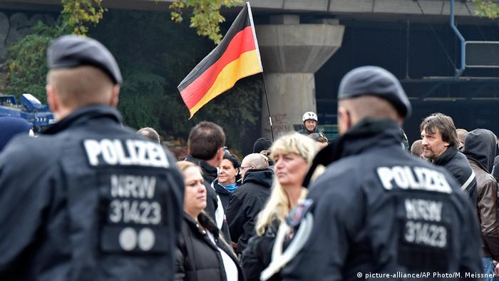 Far-right demonstration in Cologne
