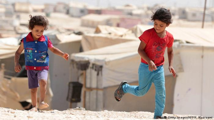 Jordan Zaatari refugee camp