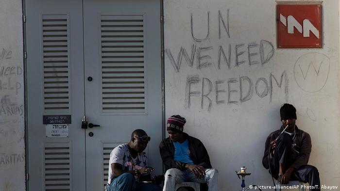 Израиль собирается депортировать африканских беженцев