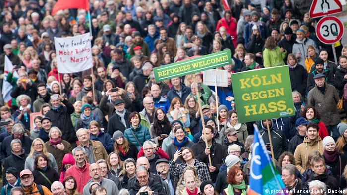 HOGESA Gegendemonstration Köln