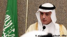 Außenminister Saudi-Arabien al-Jubeir in Kairo