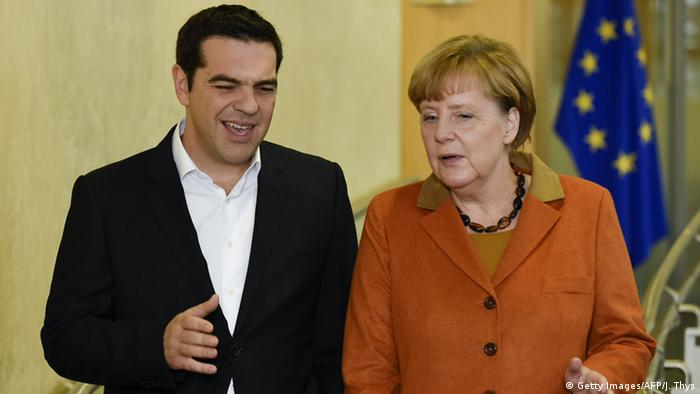 Brüsseler Flüchtlings-Gipfel Alexis Tsipras Angela Merkel