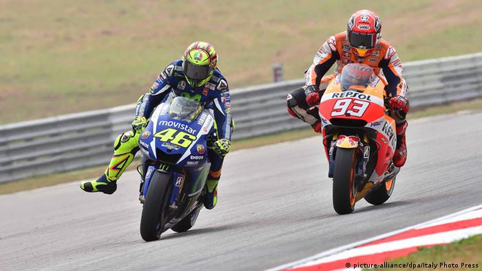 MotoGP World Championship GP of Malaysia Valentino Rossi Marc Marquez