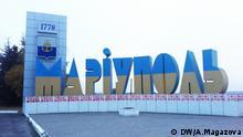 Ost Ukraine Kommunalwahlen Mariupol