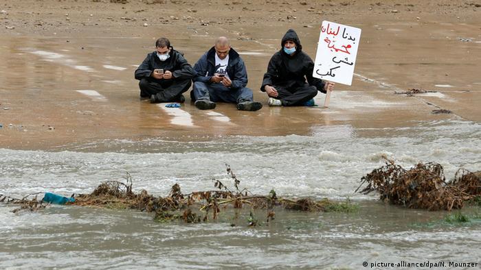 Libanon You stink Bewegung Müll Beirut Aktivisten Fluss