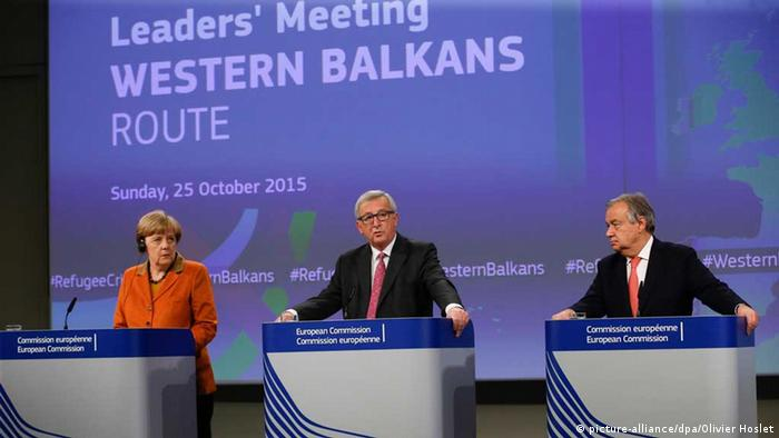 Angela Merkel na jednoj od konferencija o Zapadnom Balkanu