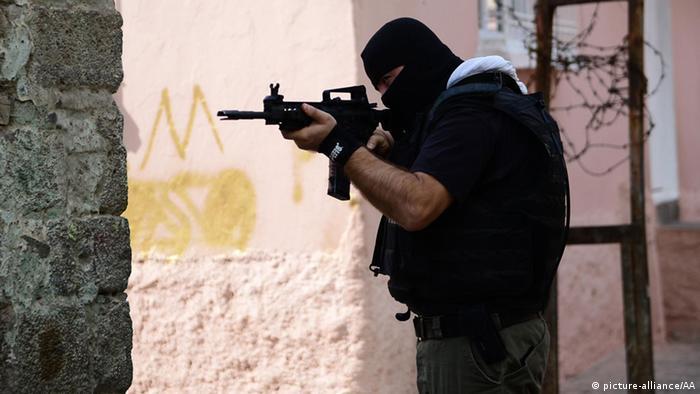 Türkei Anti-Terror Operation in Diyarbakir