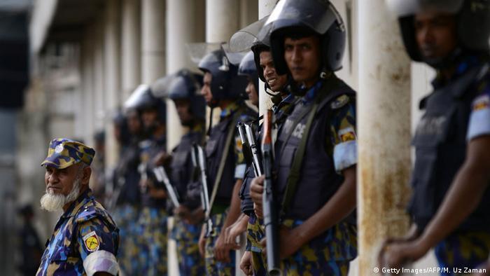 Bangladesch Polizei Symbolbild