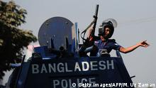 Bangladesch Polizei Symbolbild (Getty Images/AFP/M. Uz Zaman)