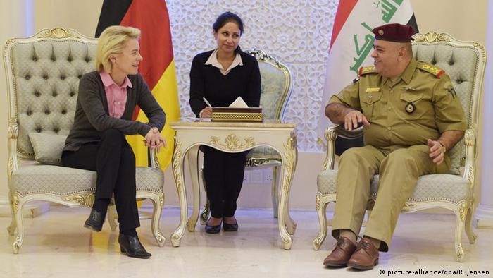 Ursula von der Leyen in Bagdad