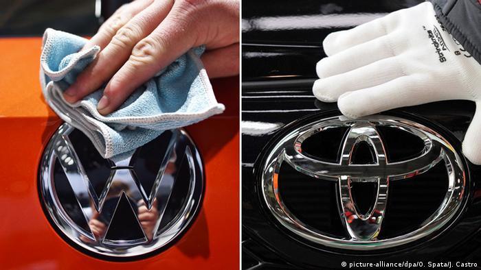 Symbolbild VW - Toyota