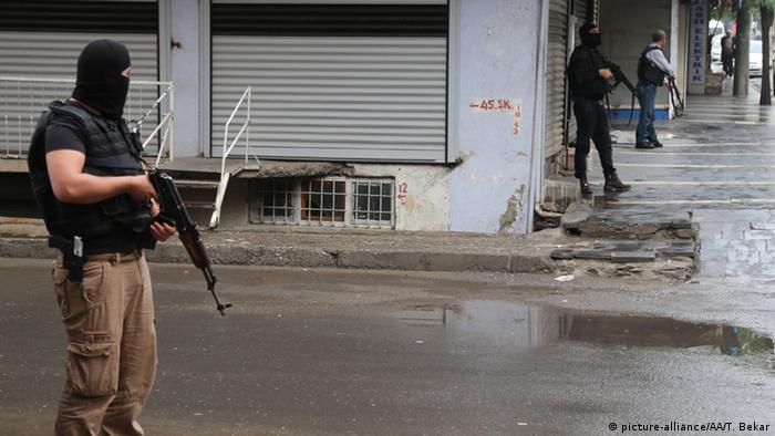 Антитеррористическая операция в Турции (фото из архива)
