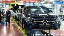 Daimler cars (picture-alliance/dpa/S. Kahnert)