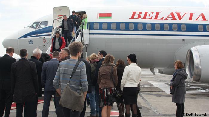 Avion kompanije Belavia