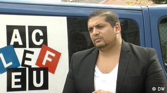 Mehdi Bigaderne, deputy mayor of Clichy-sous-Bois