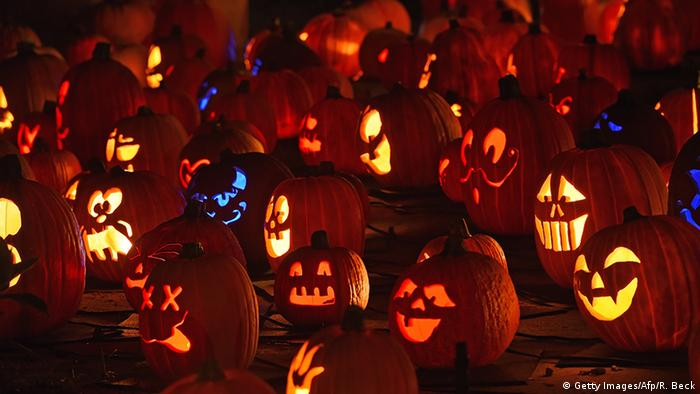 Halloween Kürbisse (Getty Images/Afp/R. Beck)