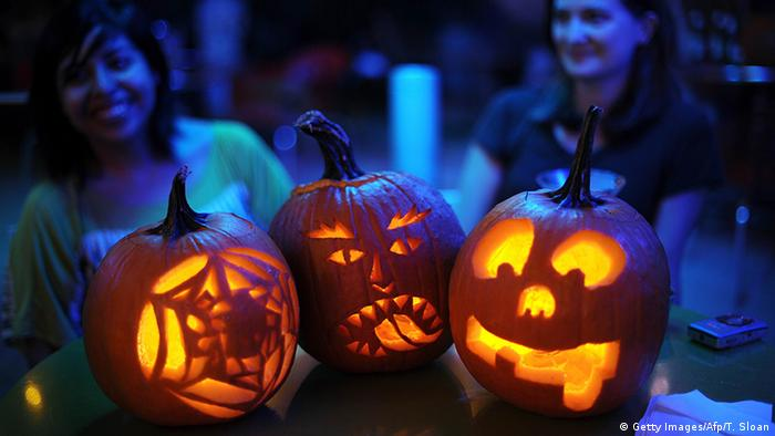 Jack-o'-lanterns (Getty Images/Afp/T. Sloan)
