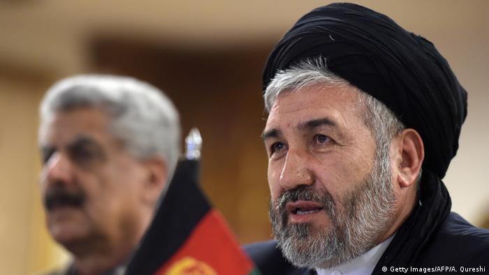Afghanistan Sayed Hossein Alimi Balkhi Minister für Flüchtlinge und Rückführung