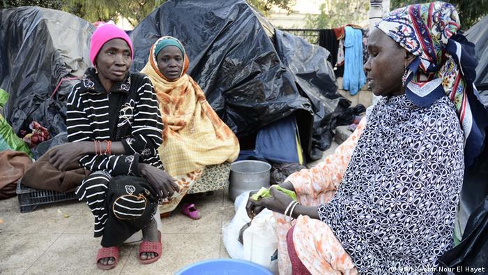Mali Algerien Flüchtlinge