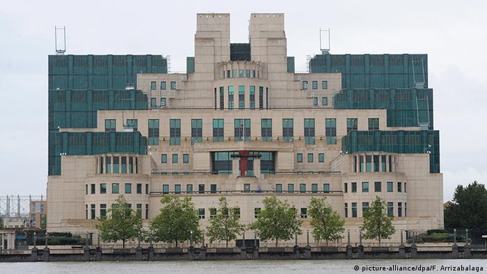 Oficinas centrales del MI6.