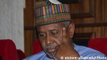 Nigeria Sicherheitsberater Sambo Dasuki