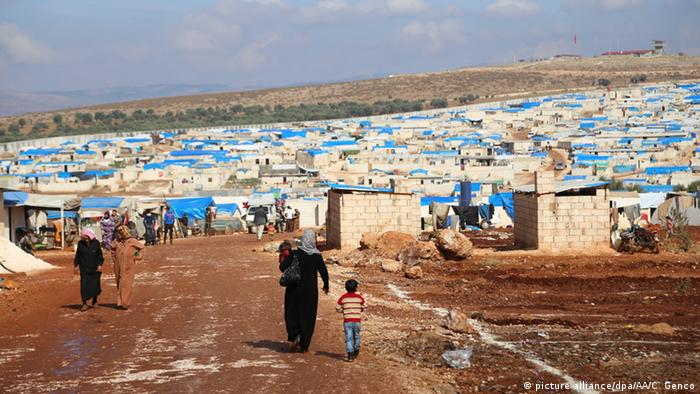 A camp in Idlib province for internally displaced.