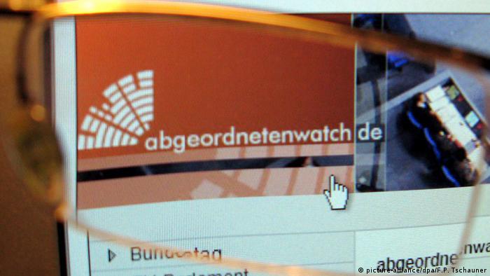Symbolbild abgeordnetenwatch.de (picture-alliance/dpa/F.P. Tschauner)