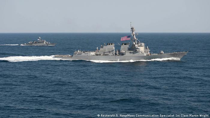 China advierte a EE. UU. por presencia de buque en archipiélago Spratly