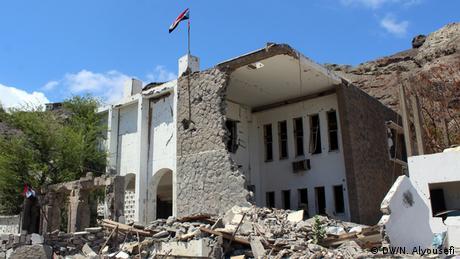 Jemen Sira Nachbarschaft in Aden Zerstörung