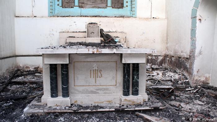 Jemen St. Joseph Kirche in Aden Zerstörung