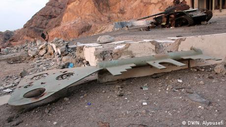 Jemen Zerstörung in Aden
