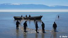 Golf von Gorgan Kaspisches Meer