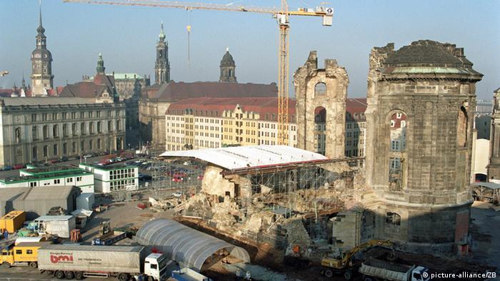 Dresden Frauenkirche Wiederaufbau