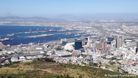 Afrika Öl Woche Cape Town Südafrika Kapstadt Übersicht