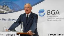 Deutschland Anton F. Börner BGA-Präsident