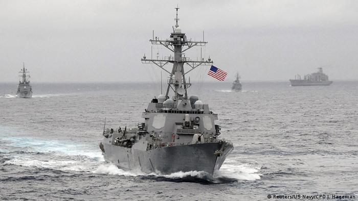 USA Zerstörer USS Lassen (Reuters/US Navy/CPO J. Hageman)