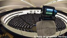 A picture taken on Ocotber 27, 2015, shows a general view of the members of the European Parliament during a voting session at the European Parliament in Strasbourg, eastern France. AFP PHOTO / PATRICK HERTZOG (Photo credit should read PATRICK HERTZOG/AFP/Getty Images) Getty Images/AFP/P. Hertzog
