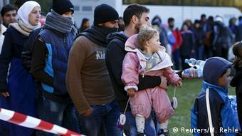 Deutschland Österreich Grenze Bayern Flüchtlinge
